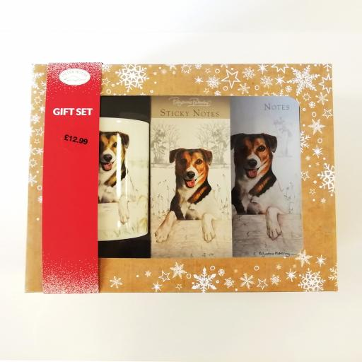 Christmas Gift Box - Jack Russell