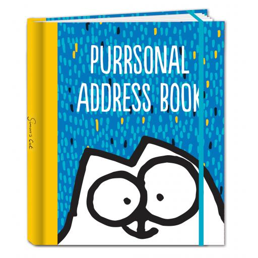 Simon's Cat Stationery - A5 Address Book - Purrsonal