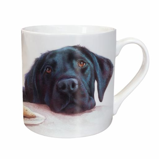 Tarka Mug - Watercolour Black Labrador