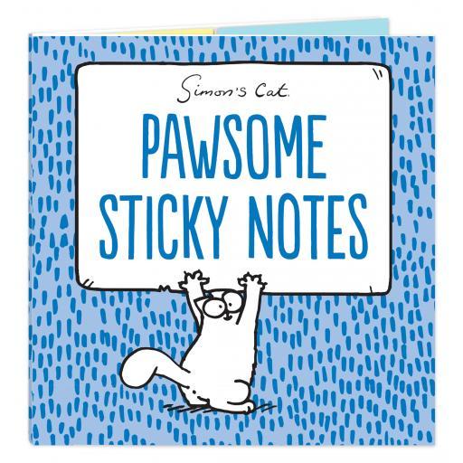 Simon's Cat Stationery - Sticky Notes Selection - Pawsome