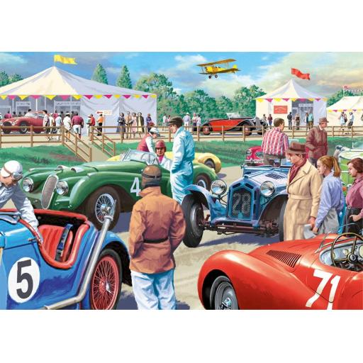 Legends of The Track 500 Piece Jigsaw (XL Pieces)