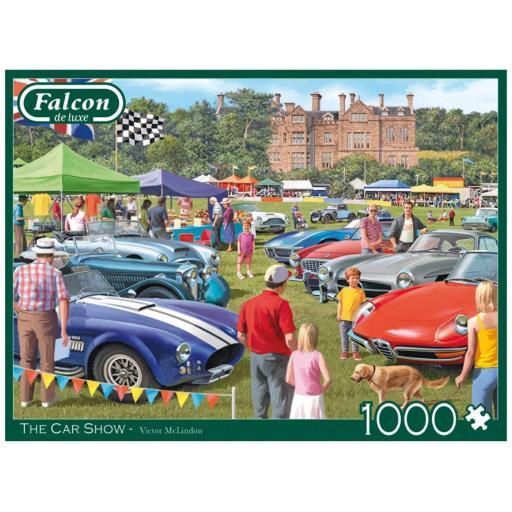 The Car Show 1000 Piece Jigsaw