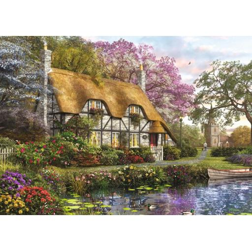The Gardener's Cottage 1000 Piece Jigsaw