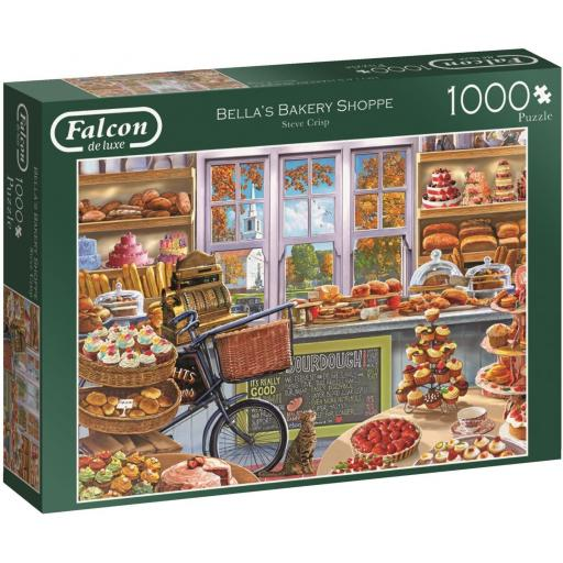 Bella's Bakery Shop 1000 Piece Jigsaw