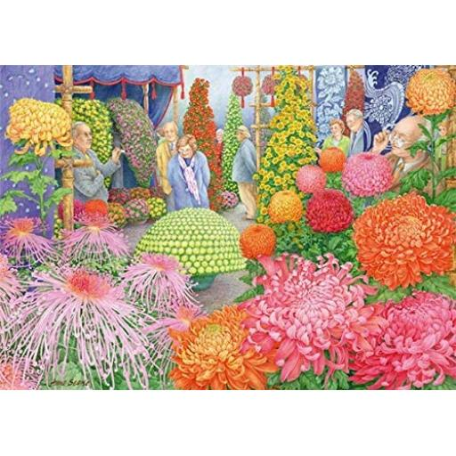 The Flower Show 1000 Piece Jigsaw
