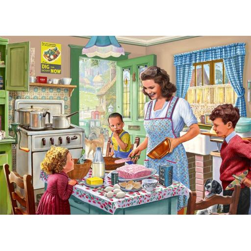 Baking with Mother 1000 Piece Jigsaw