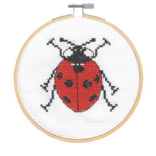 Ladybird Cross Stitch Kit