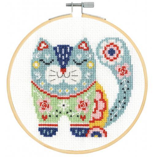 Cross Stitch Kit XS - Cat