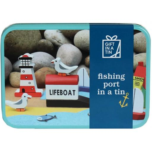 Fishing Port in a Tin Kit - Gift in a Tin