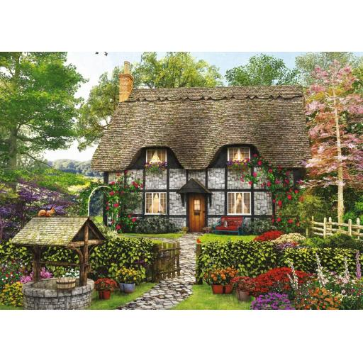 The Florist's Cottage 500 Piece Jigsaw