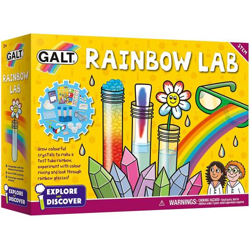 Explore & Discover - Rainbow Lab