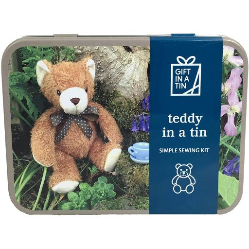 Teddy in a Tin Kit - Gift in a Tin
