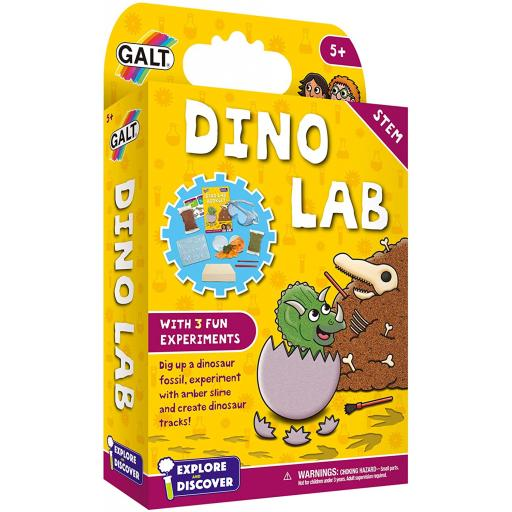 Explore & Discover - Dino Lab