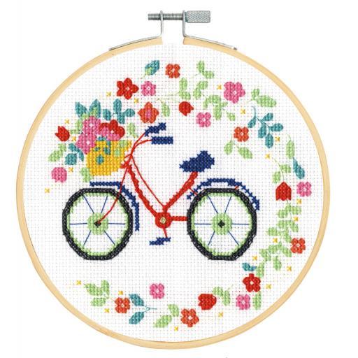Cross Stitch Kit XS - Bicycle
