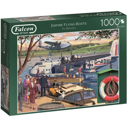 Empire Flying Boats 1000 Piece Jigsaw