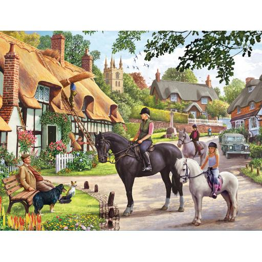 Rectangular Jigsaw - Country Life