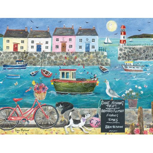Rectangular Jigsaw - Harbour Side