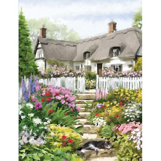 Rectangular Jigsaw - Country Cottage