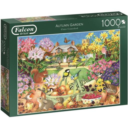Autumn Garden 1000 Piece Jigsaw