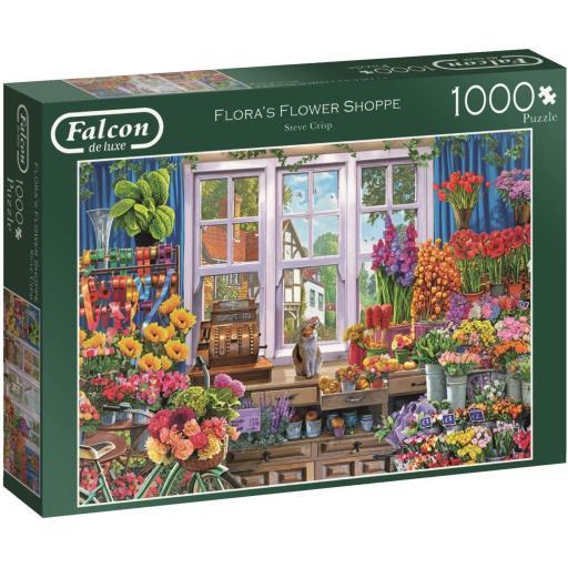 Flora's Flower Shoppe 1000 Piece Jigsaw