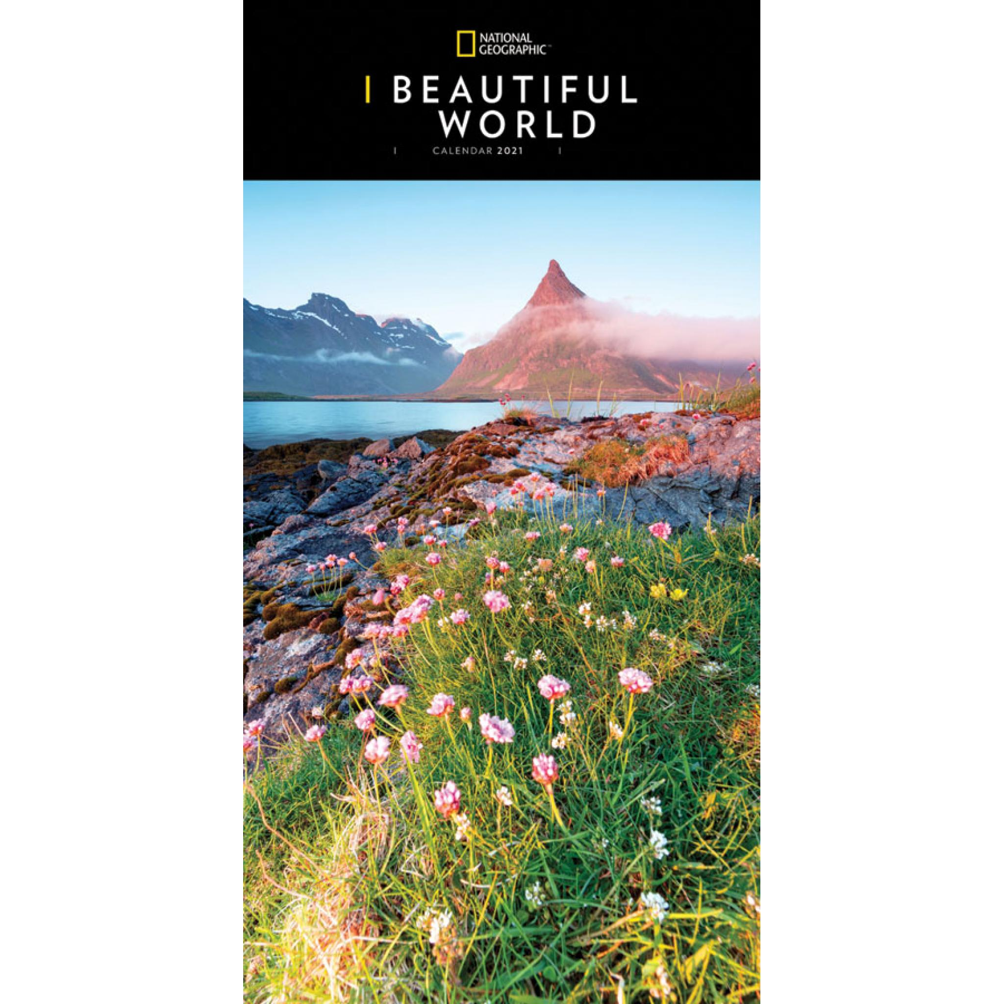 National Geographic   Beautiful World Calendar 2021