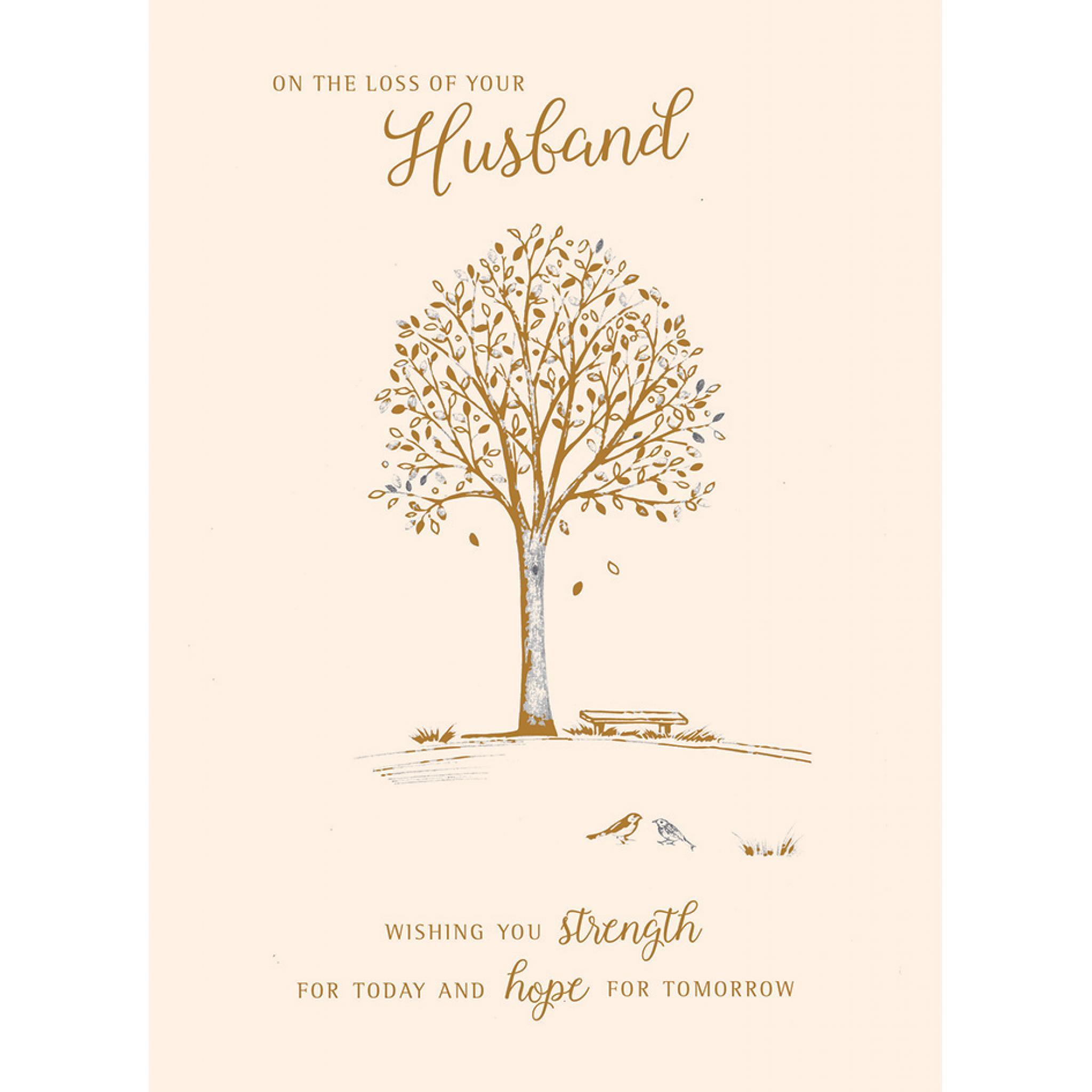 Beautiful Tree Sympathy Card
