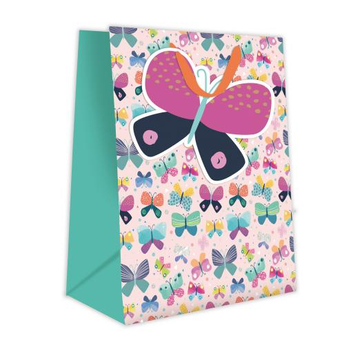 Gift Bag (Medium) - Butterfly Pattern