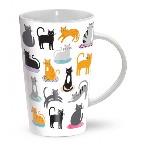 Latte Mug - Purrfect