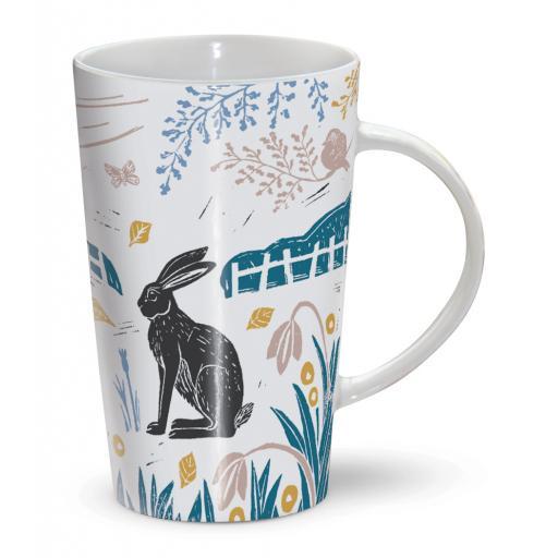 Latte Mug - Hares