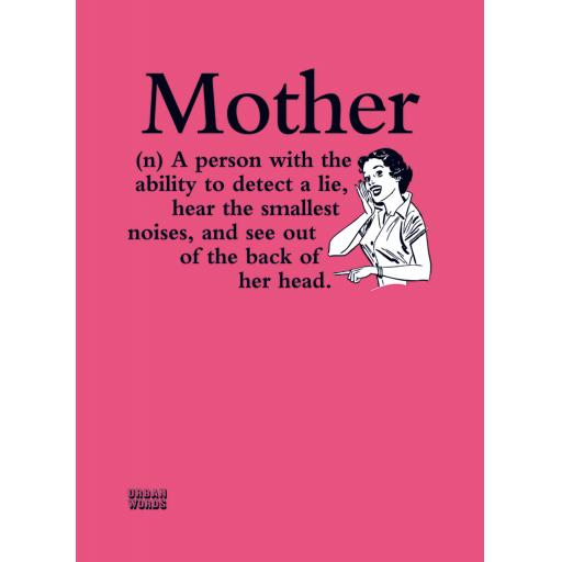 Urban Words Card Collection - Mother