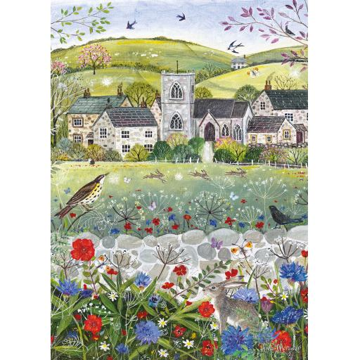 Rectangular Jigsaw - Spring Is Here!