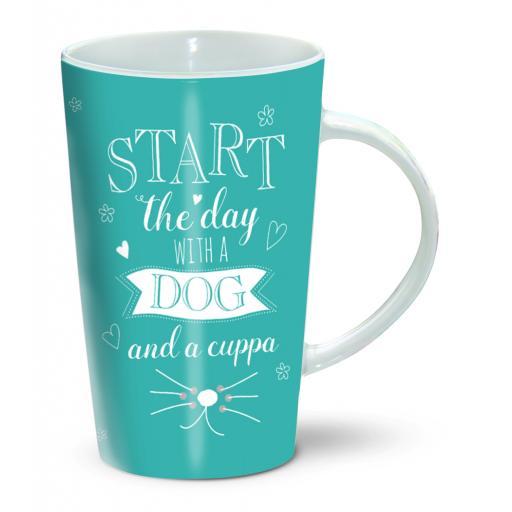 Latte Mug - Dog & Cuppa