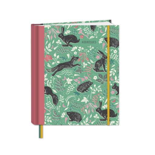 RSPB Natures Print - A5 Address Book - Wonderous Wildlife