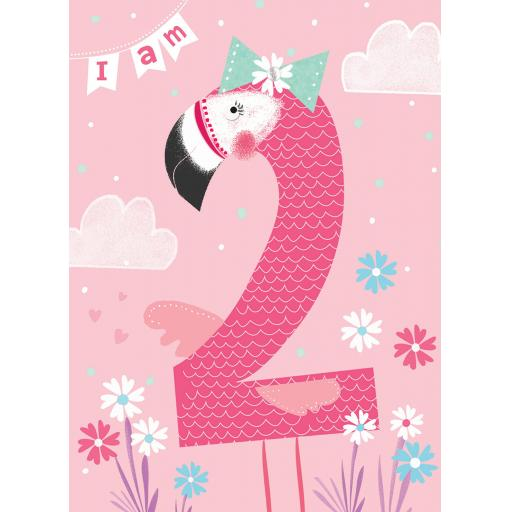 Rainbow Pops Card Collection - Flamingo (Age 2)