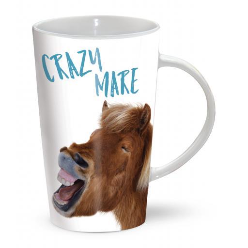Latte Mug - Crazy Mare