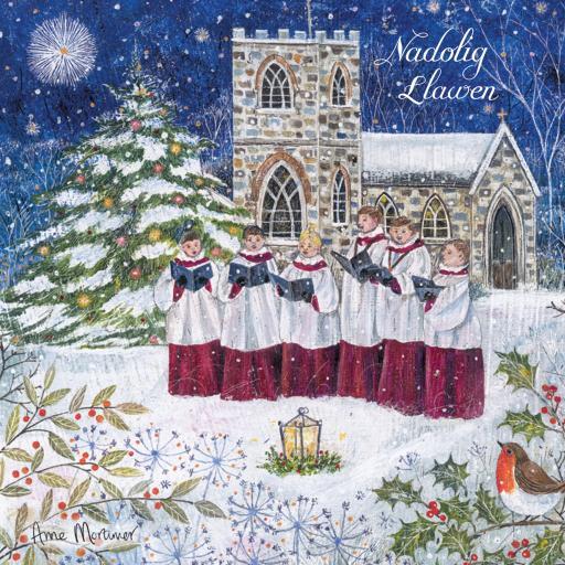 Welsh Christmas Cards (Small) - Christmas Carols
