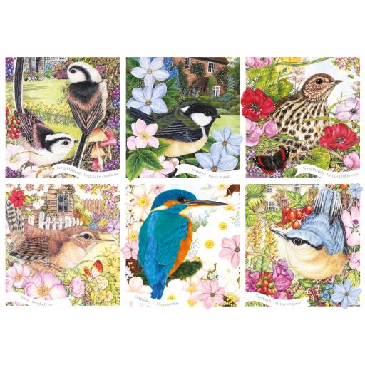 Rectangular Jigsaw - RSPB Garden Birds