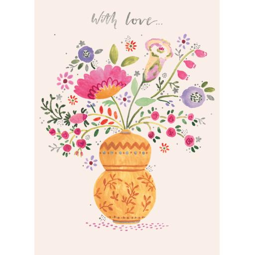 Marie Curie Happy Days Card Collection - Lovely Flowers