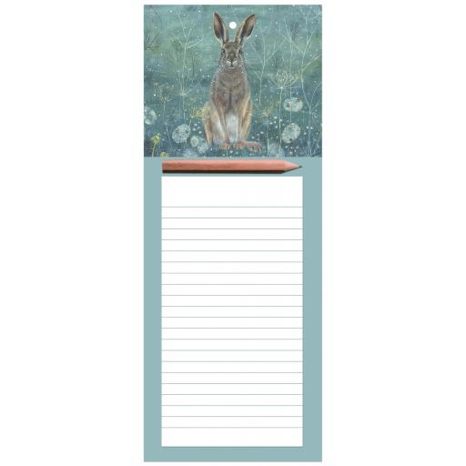 Magnetic Memo Pad - Enchanted Hare