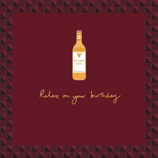 Man Of The Moment Card Collection - Time For Wine