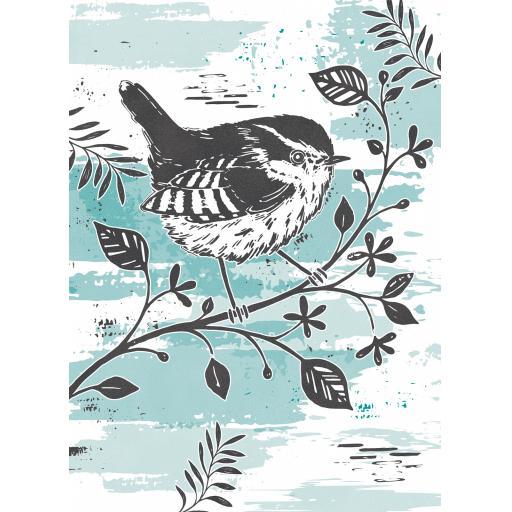 RSPB Card - Wild Meadow Card - Little Wren