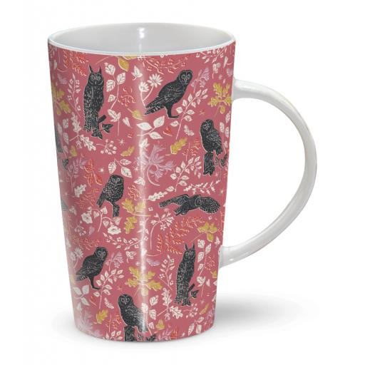 Latte Mug - Owls
