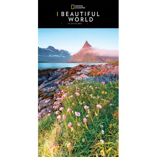 National Geographic - Beautiful World Super Deluxe Calendar 2021
