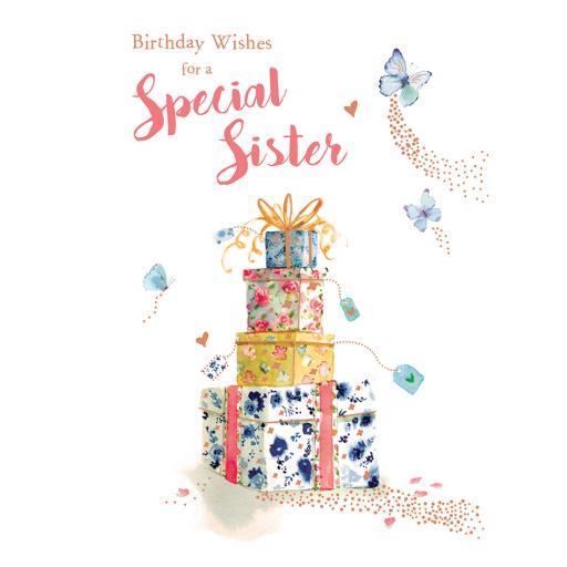 Family Circle Card - Pretty Presents (Sister)