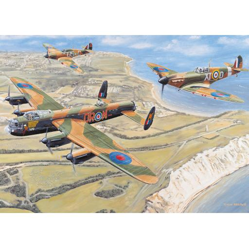 Rectangular Jigsaw - Battle Of Britain