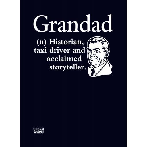 Urban Words Card Collection - Granddad