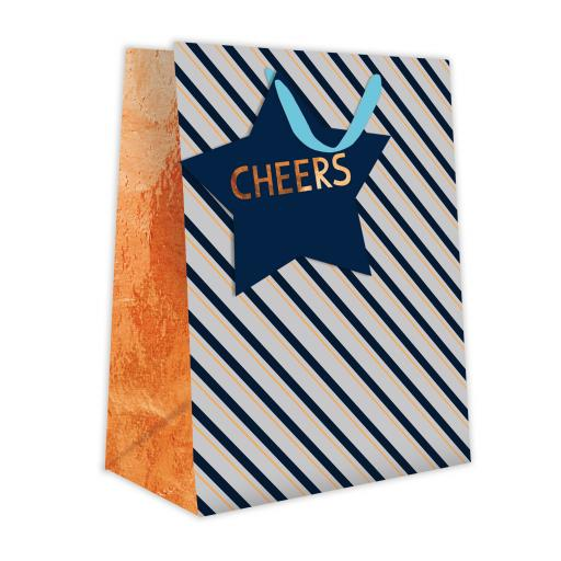 Gift Bag (Medium) - Cheers & Stripes