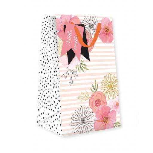 Gift Bag (Small) - Pink Florals