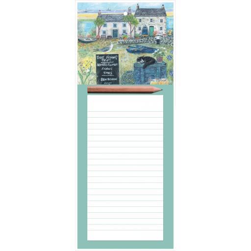 Magnetic Memo Pad - Seaside Charm
