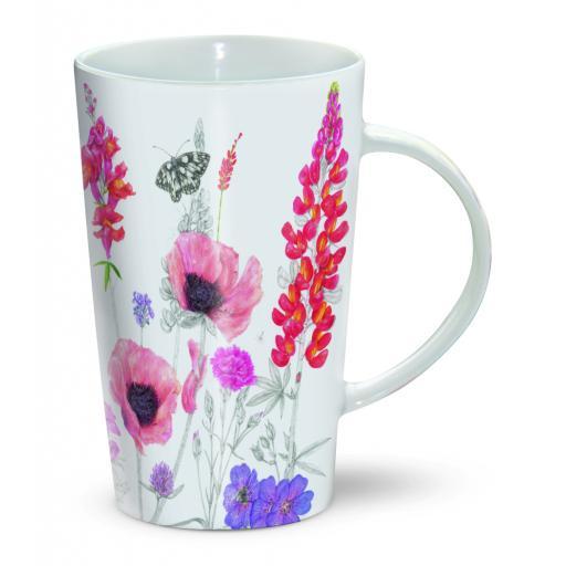 Latte Mug - Beautiful Florals